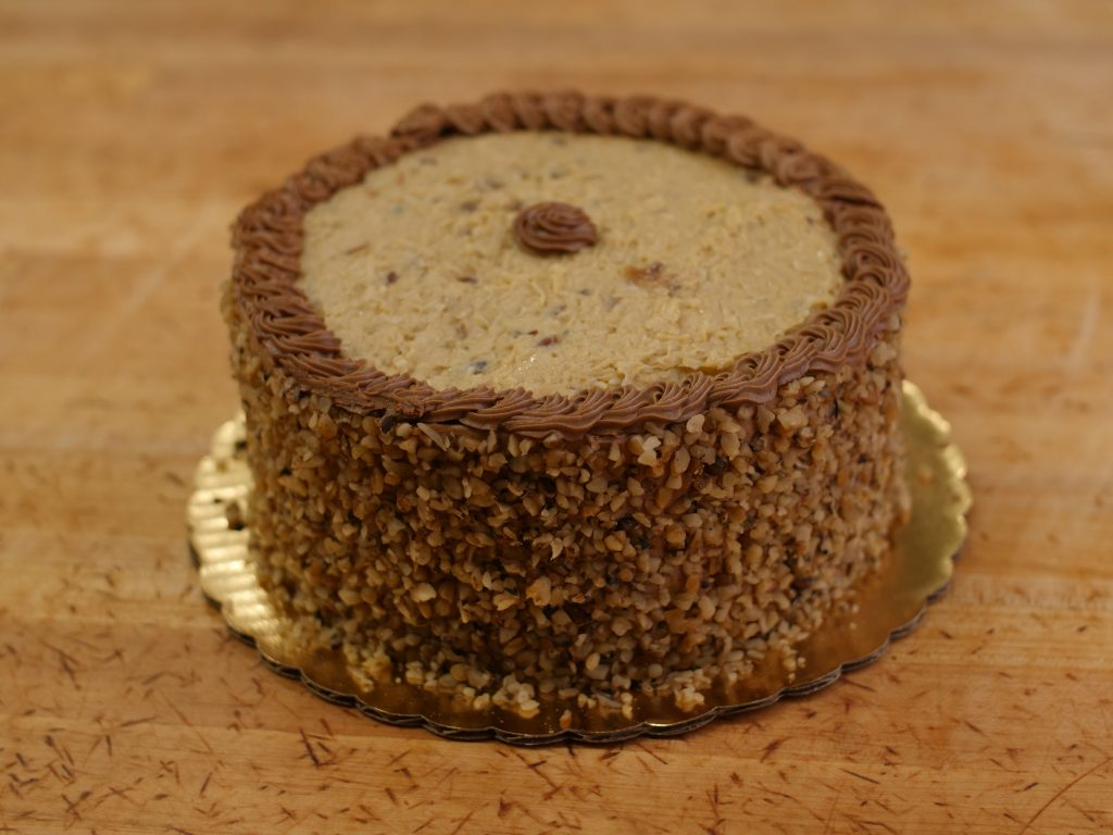 German Choc Cake Double