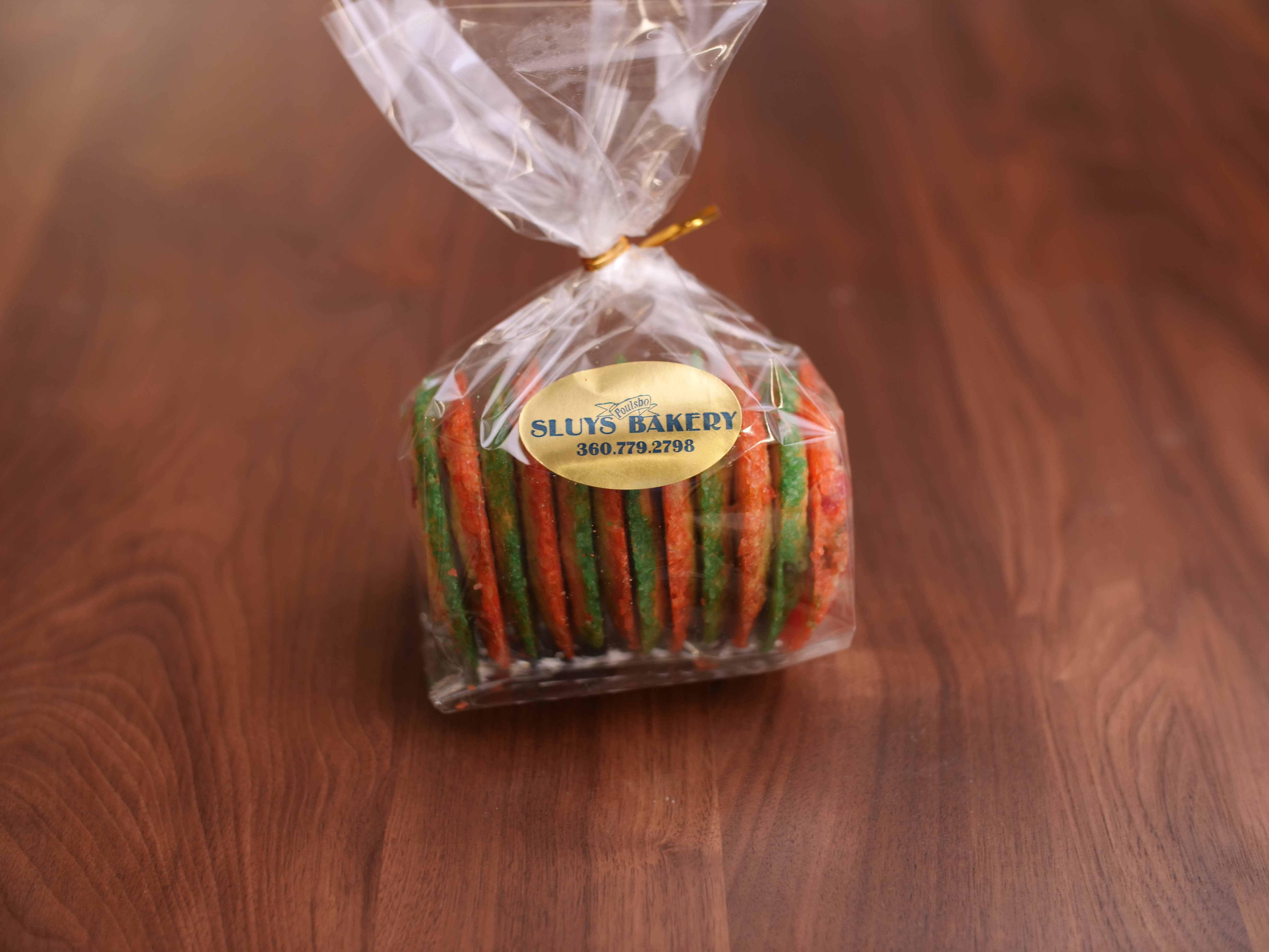 Seasonal Cookies Cherry Butter