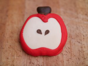 Cookie Deco Apple Half 2