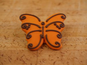 Cookie Deco Butterfly Pink