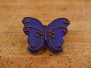 Cookie Deco Butterfly Purple