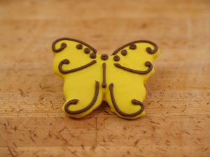Cookie Deco Butterfly Yellow