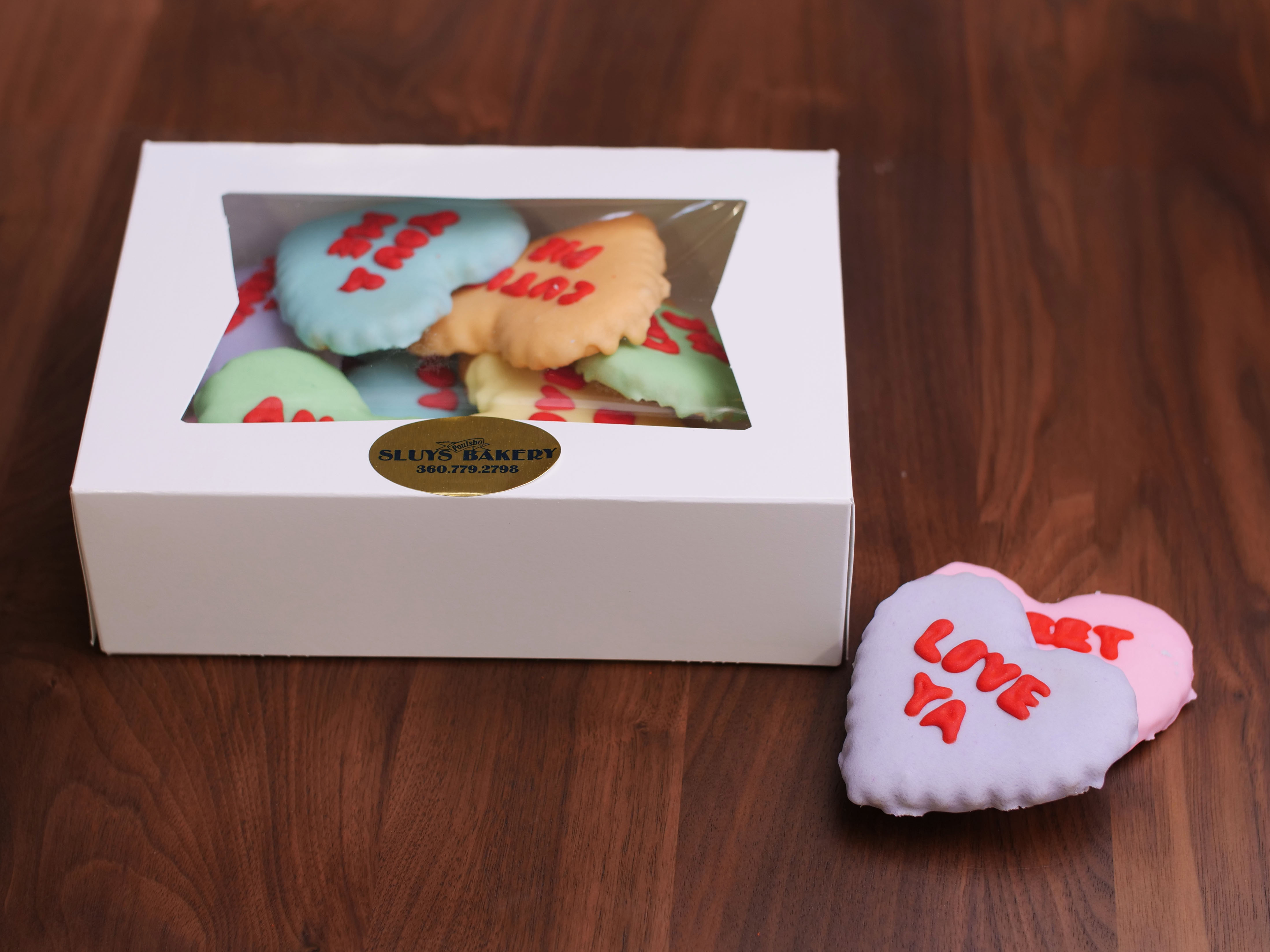 Cookie Deco Conv Hearts 2