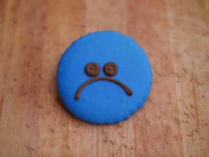 Cookie Deco Sad 2