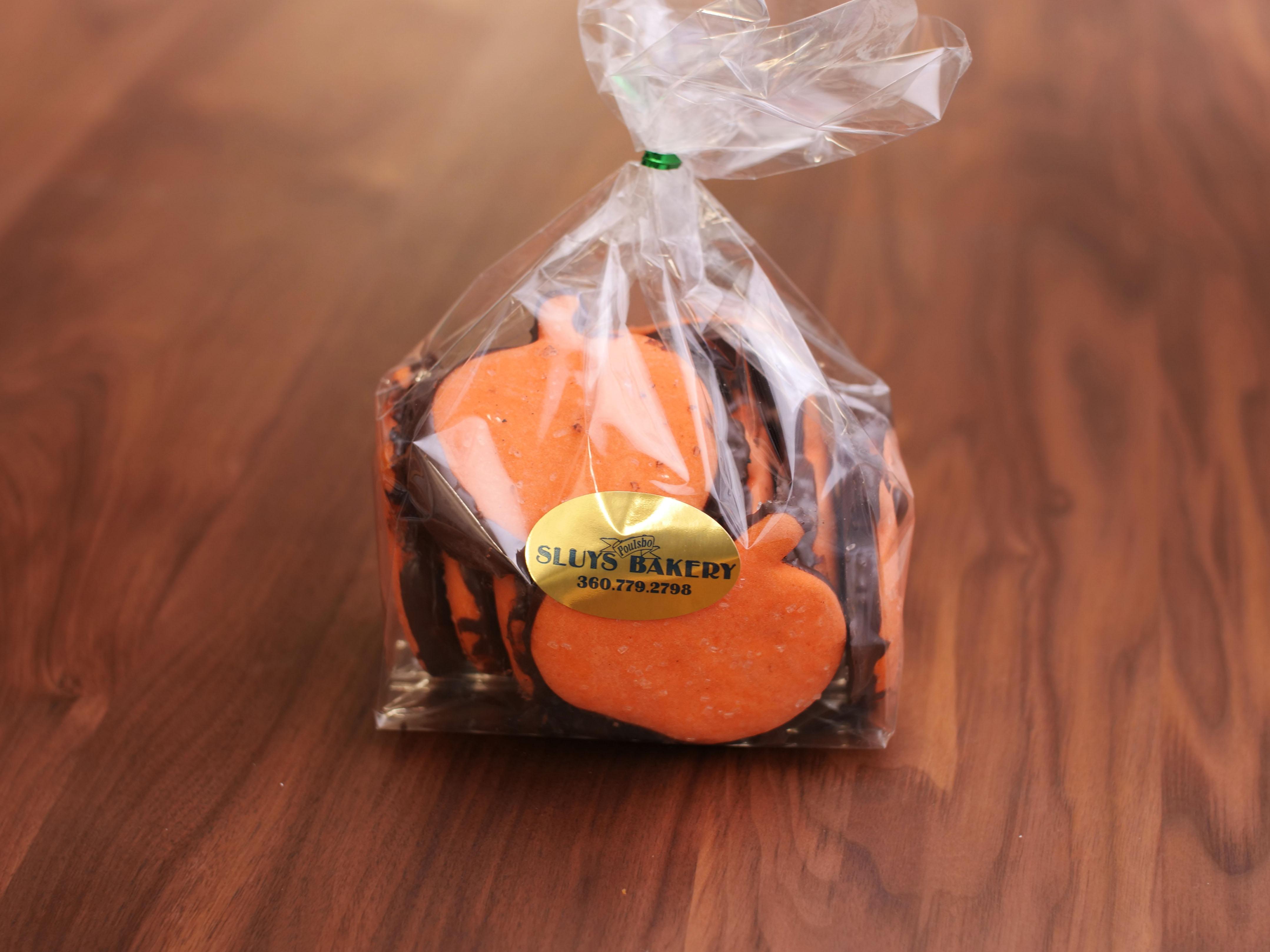 Cookies Choc Dipp Pumpkins