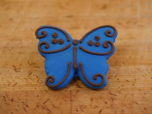Cookies Deco Butterfly Blue