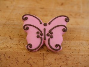 Cookies Deco Butterfly Pink
