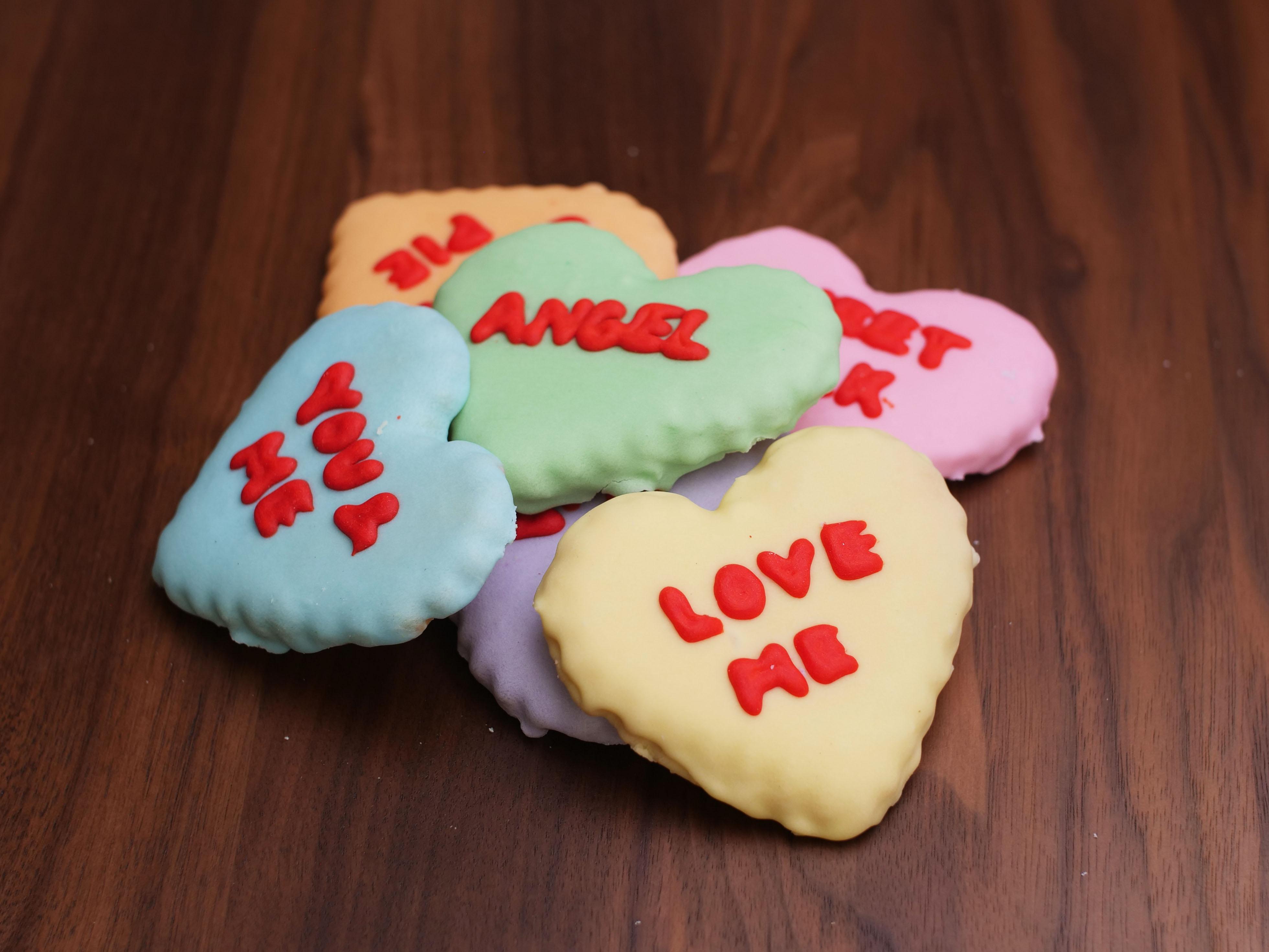 Cookies Deco Conv Hearts Single