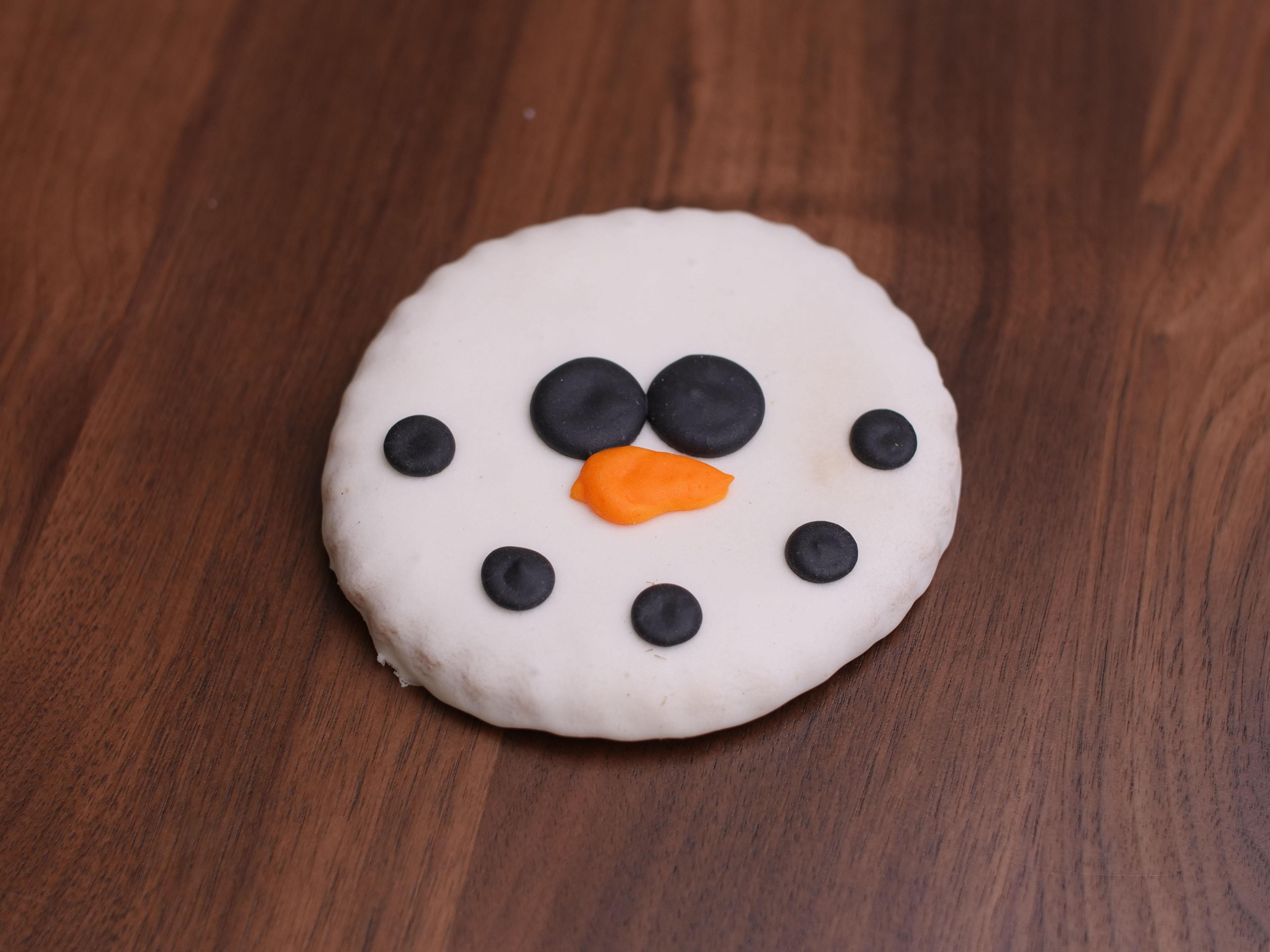 Cookies Deco Happy Snowman
