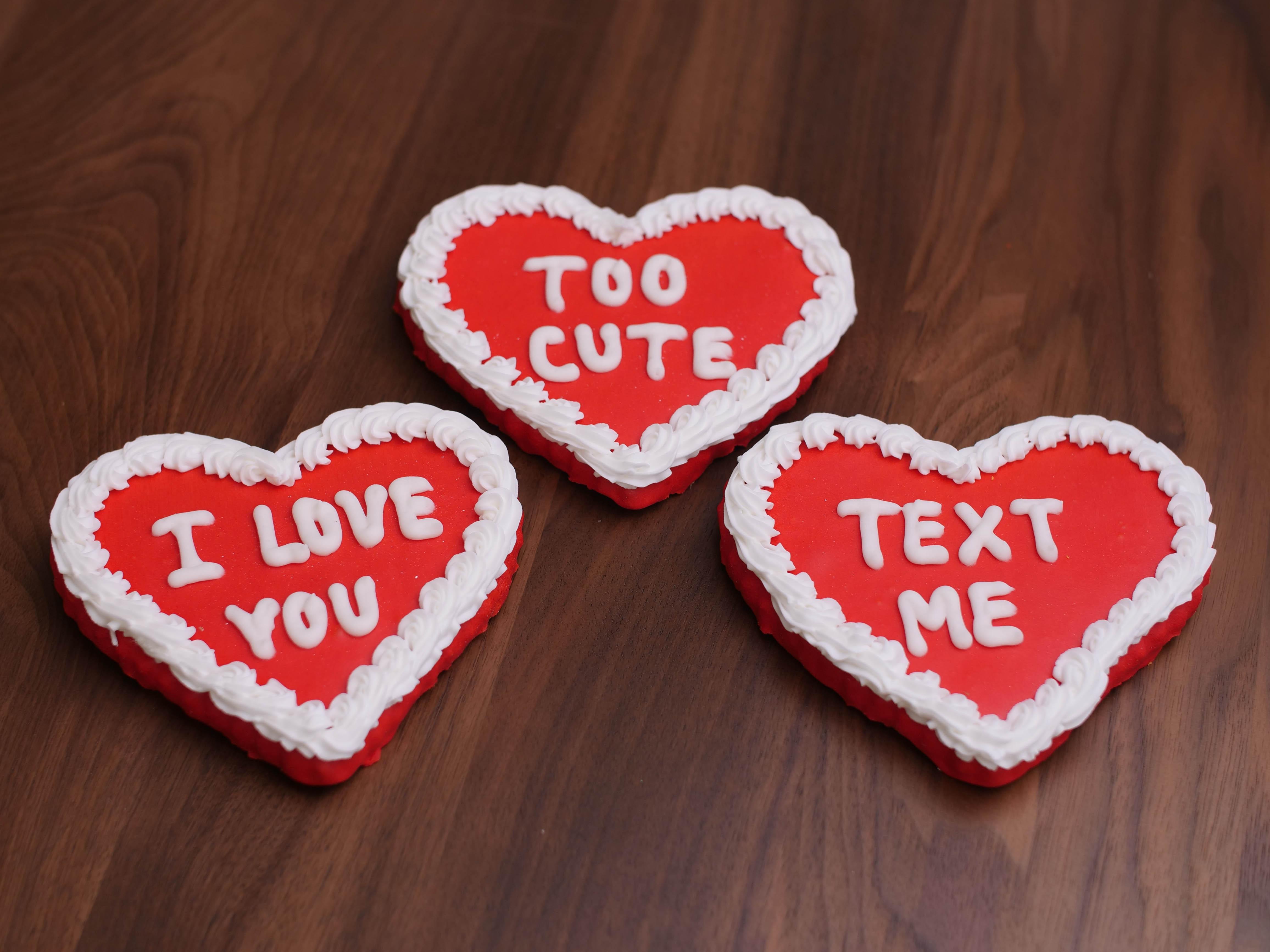 Cookies Deco Hearts