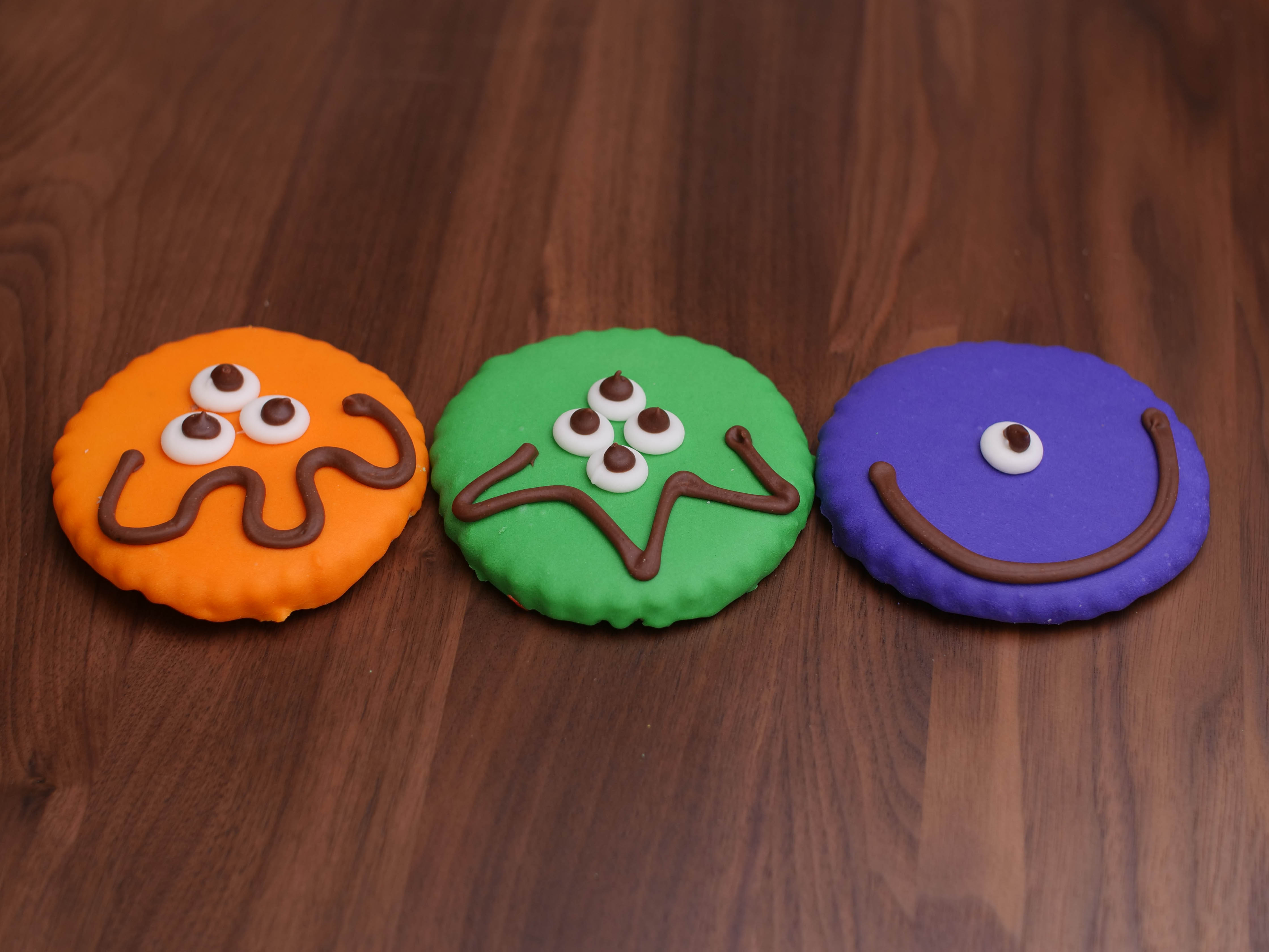 Cookies Deco Monster