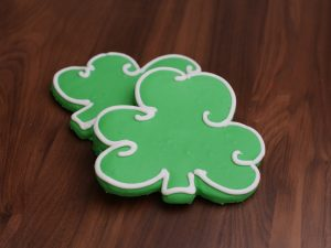 Cookies Deco Shamrock
