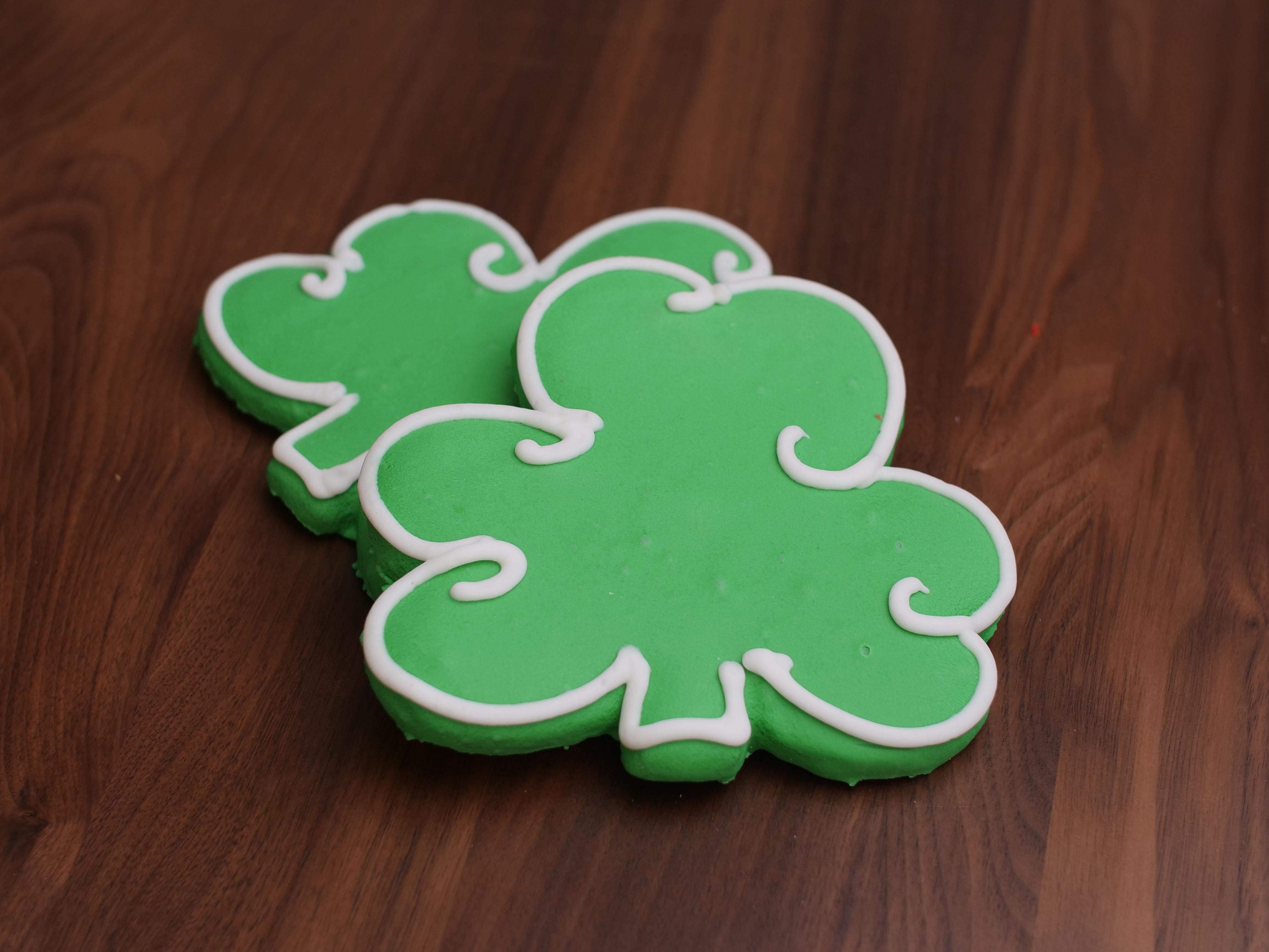 Cookies Deco Shamrock
