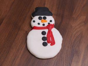 Cookies Deco Snowman