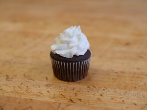 Cupcake White On Choc