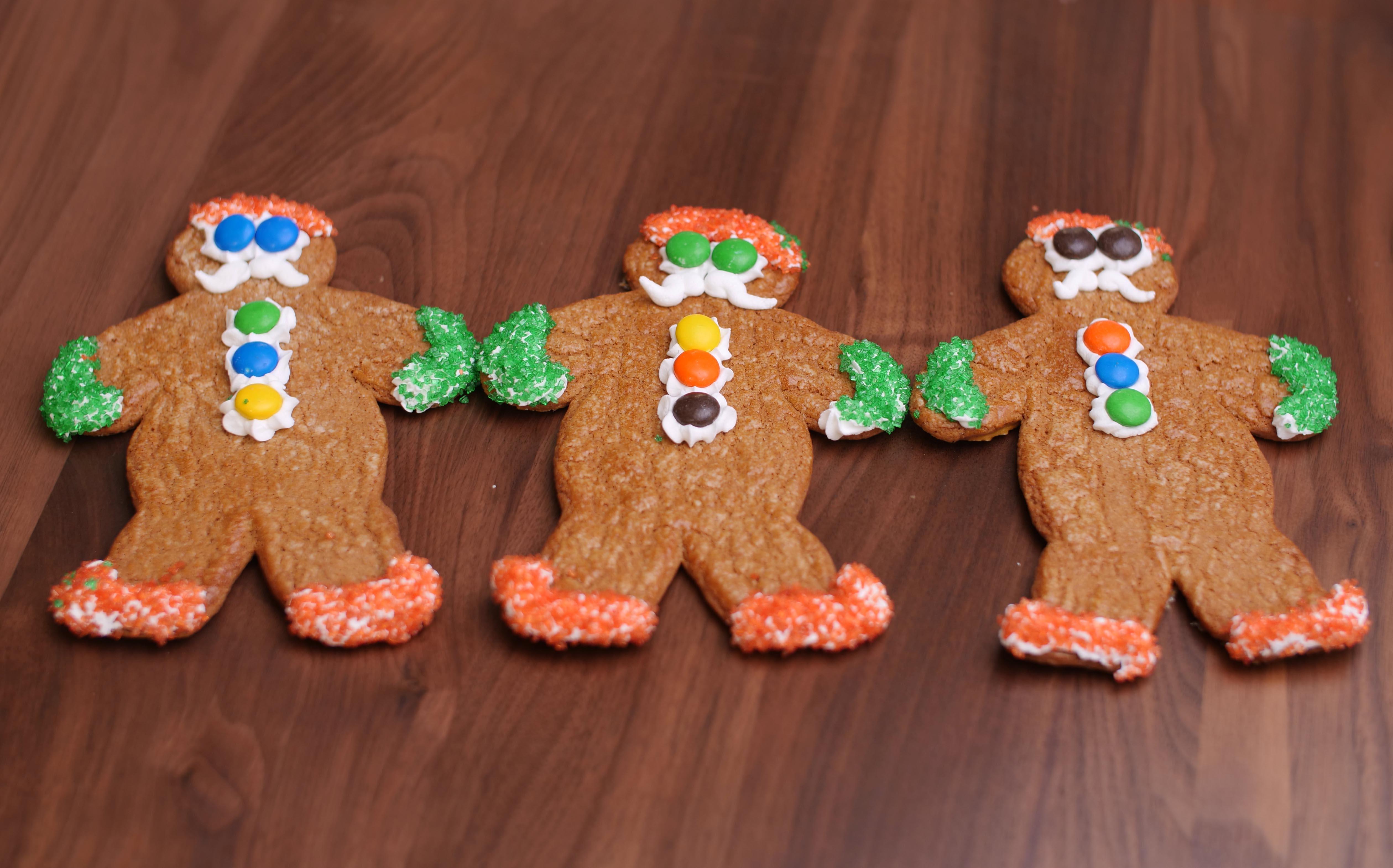 Seasonal Gingerbread Santa